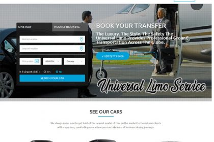 The Universal Limo | 360 Websolutions | Website Development | Web Design | Website Design | Webdesign Packages